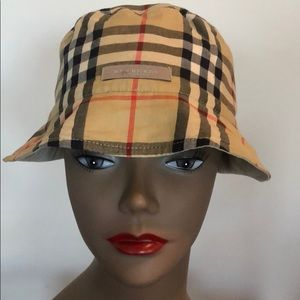 Authentic Reversible Burberry Bucket Hat